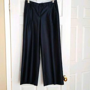 TH whide leg bavy blue slacks
